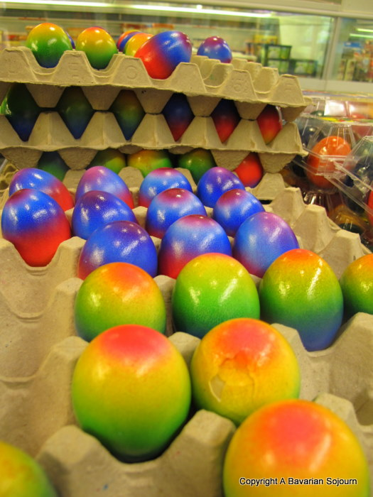 Sunday Photo – Psychedelic Eggs