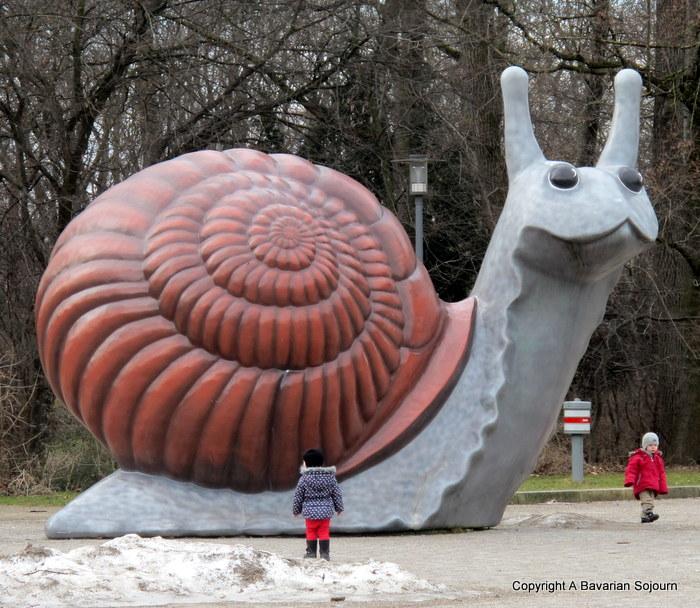 giant snail munich