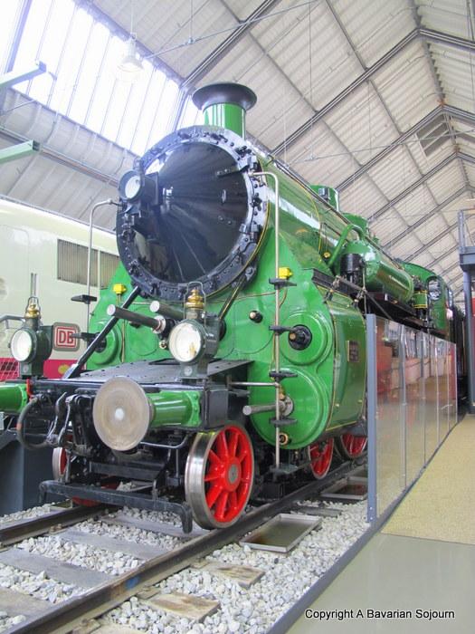 steam train munich