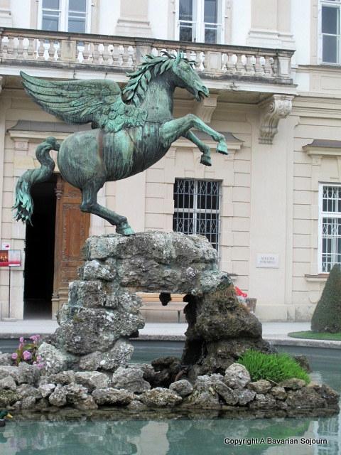 horse statue salzburg