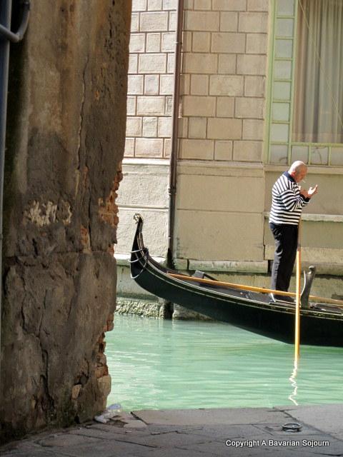 Sunday Photo – Gondola Contemplation