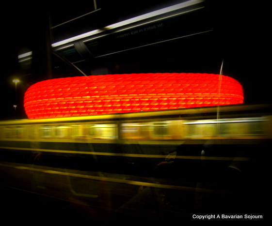 allianz arena red