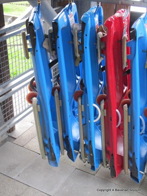 rodelbahn sledges