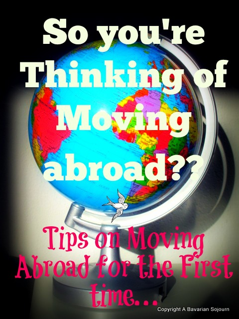 Moving Abroad…