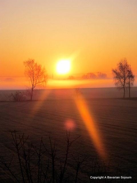 Sunrise Munich