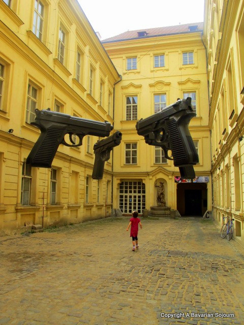 Big Guns Art Installation Prague