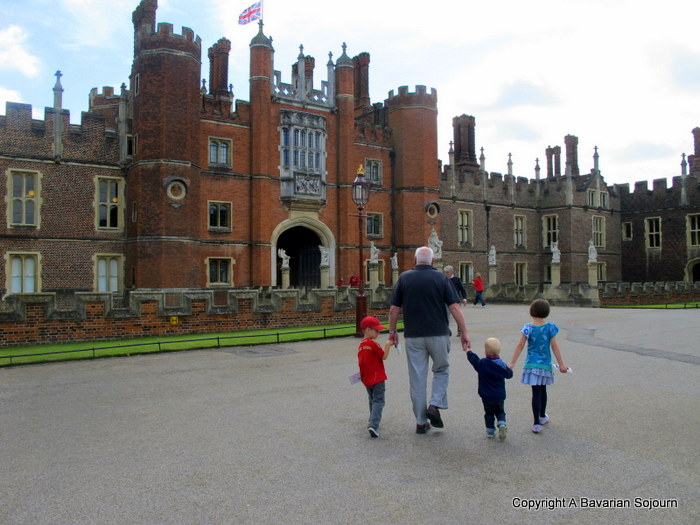 Meeting Henry… (a trip to Hampton Court Palace)