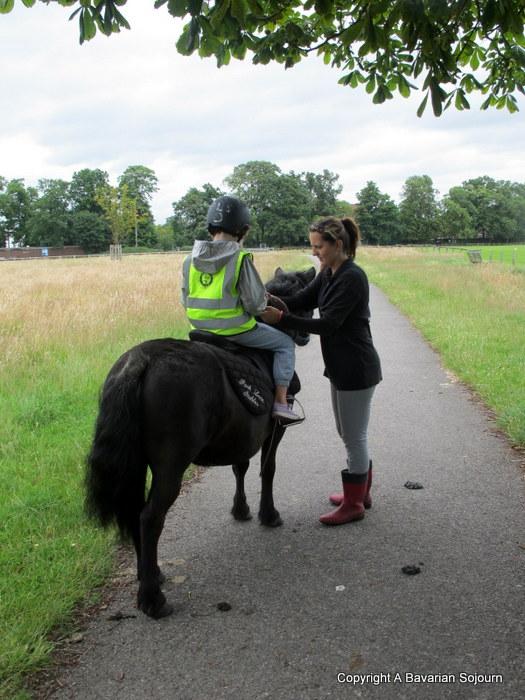 Riding in Bushy Park