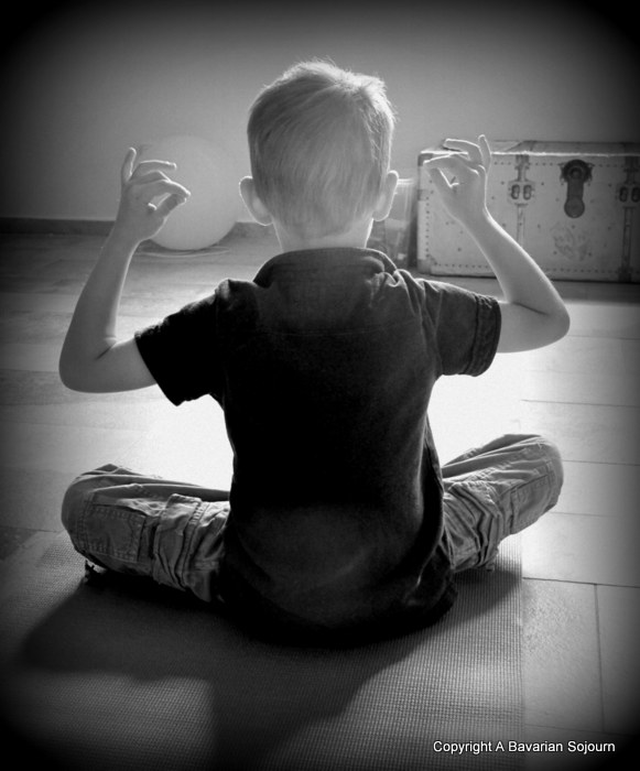 Child in Lotus Position