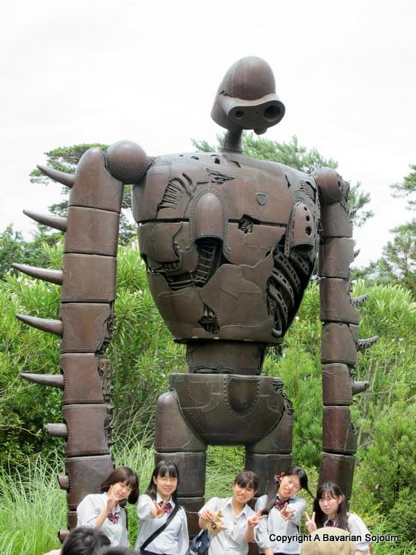 robot at totoro museum
