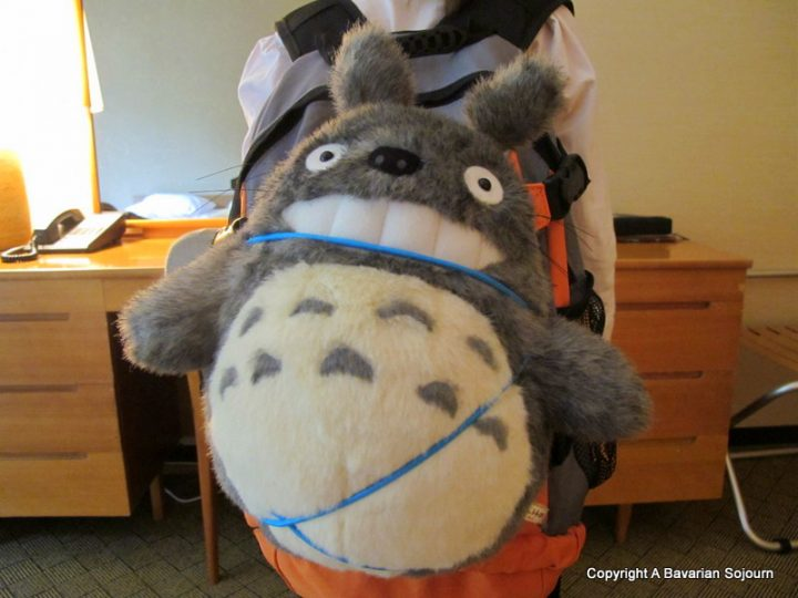 backpacking totoro