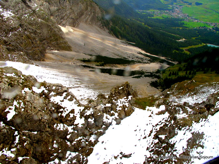 Zugspitze from the top