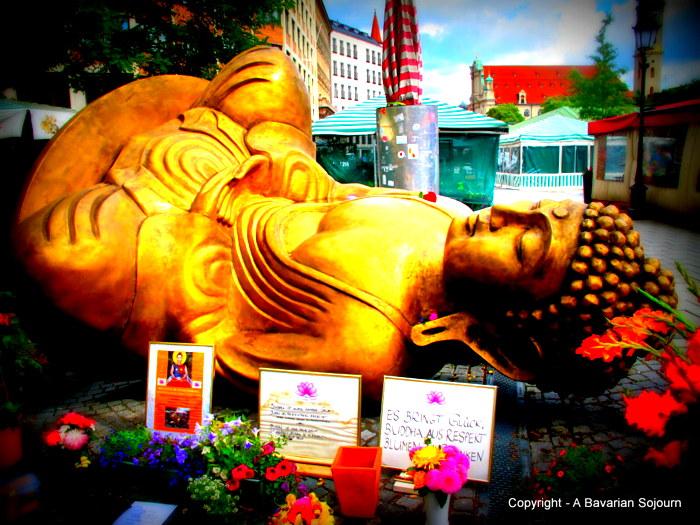 Reclining Buddha Munich
