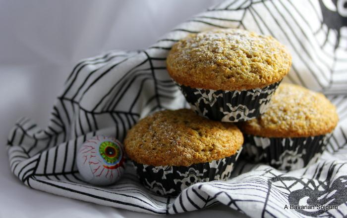 spiced pumpkin muffin