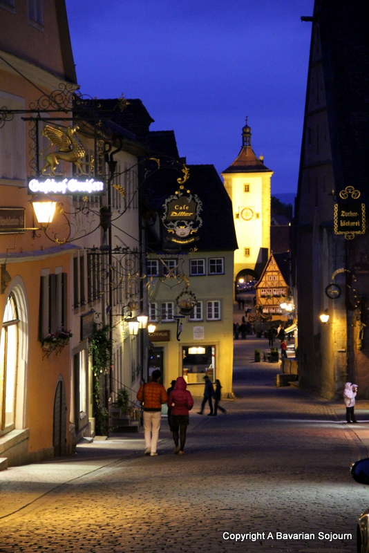 The Night Watchman - A Bavarian Sojourn