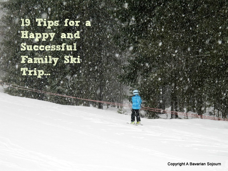 tips for a family ski trip