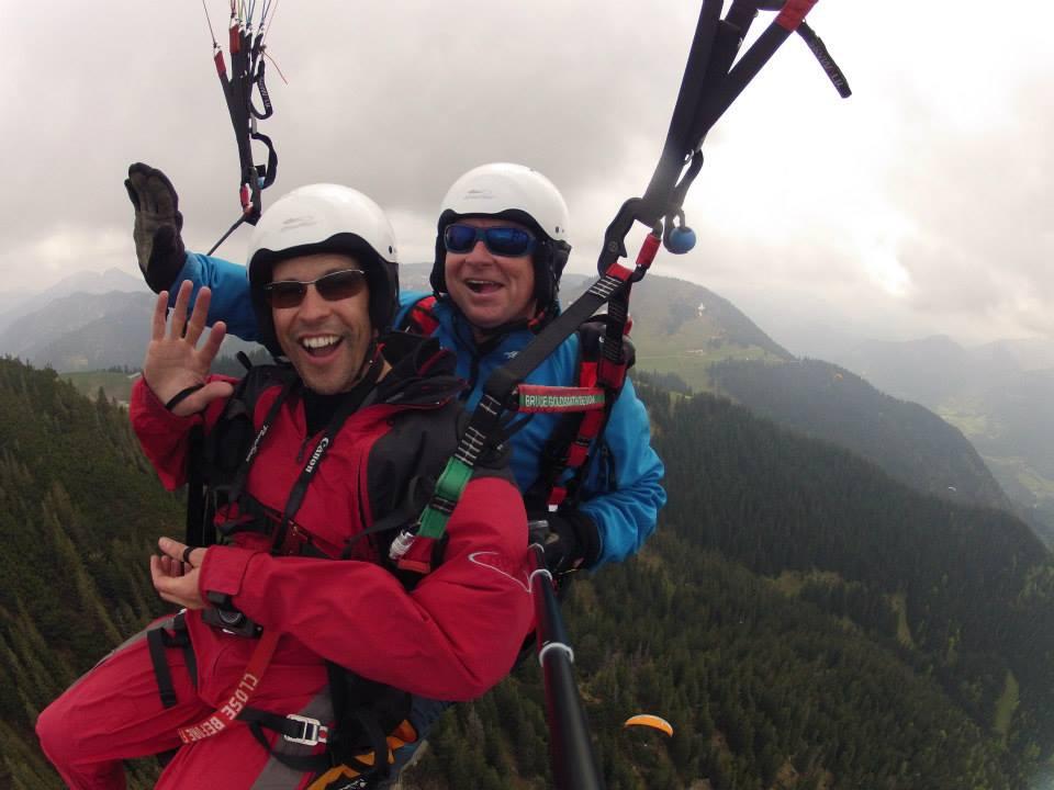 Steve Paragliding 3