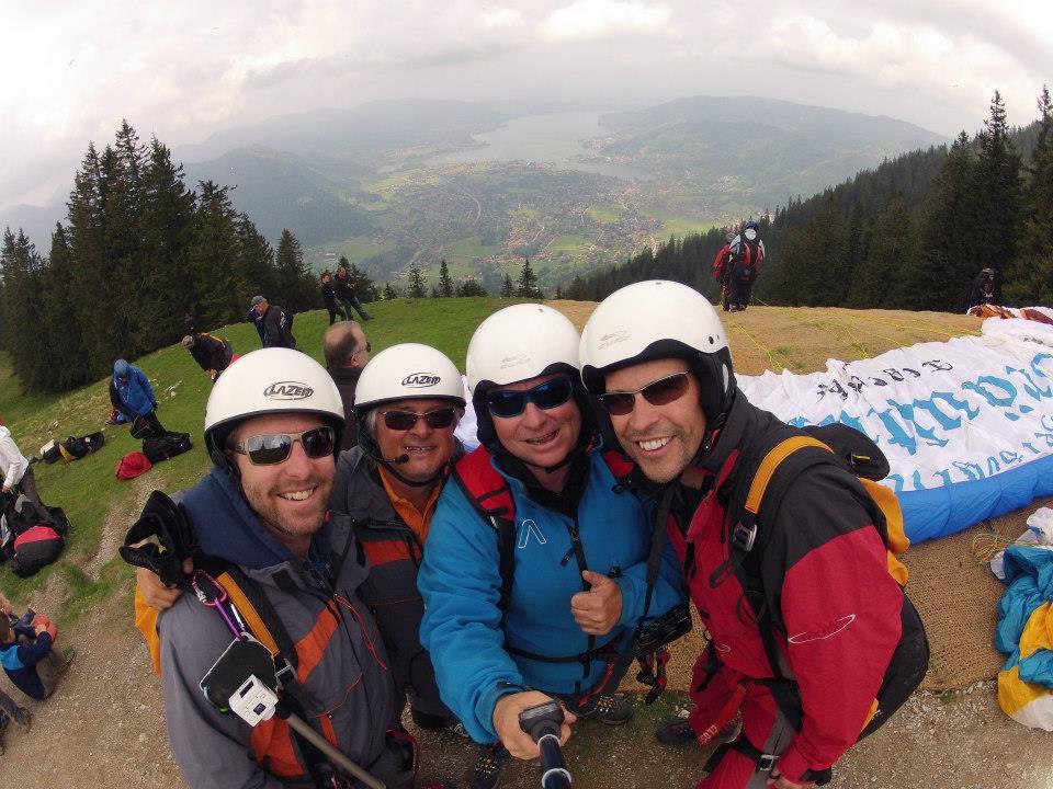 Steve Paragliding 4