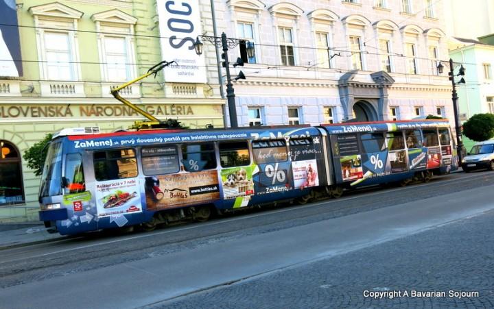 Briefly in Bratislava…