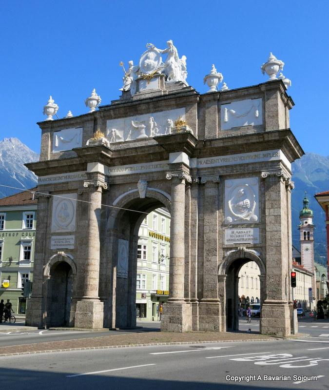 city gate innsbruck