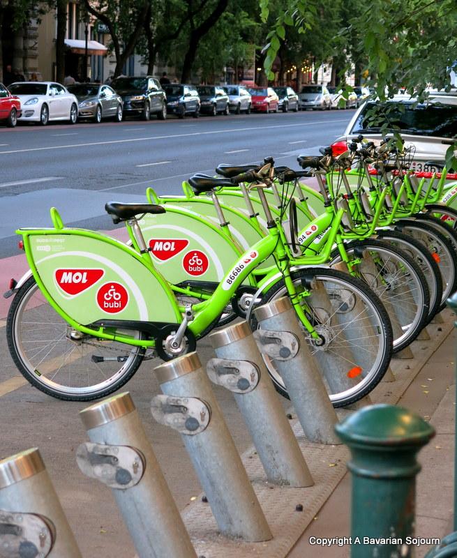 city bikes budapest