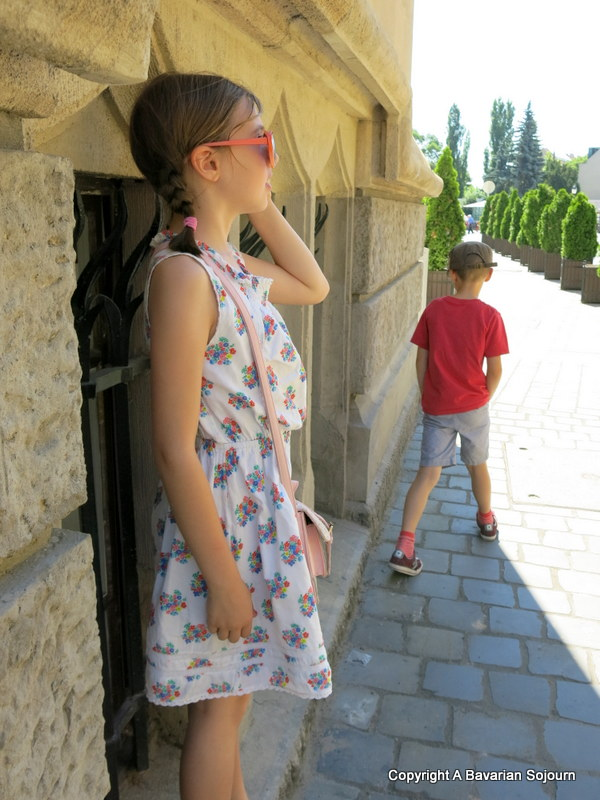shade seeking Buda Castle