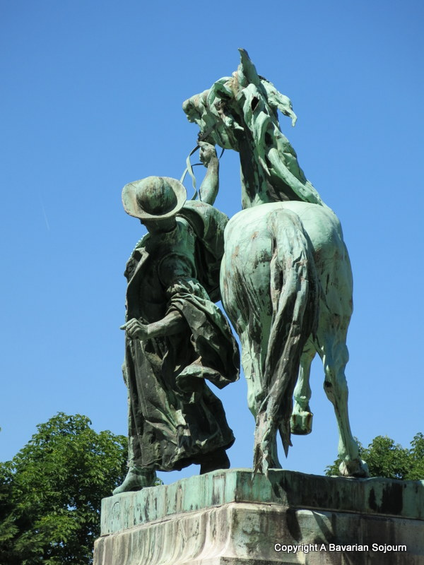 statue of the Horse Wranger Buda Castle