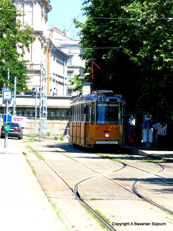 city tram budapest