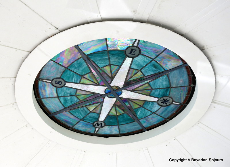 Compass Ceiling in the Lantern Room