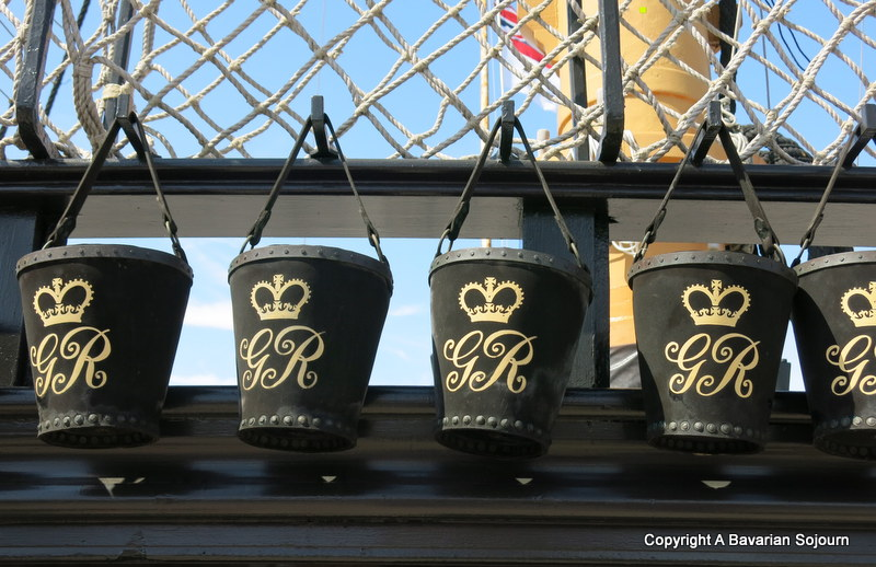 fire buckets HMS Victory