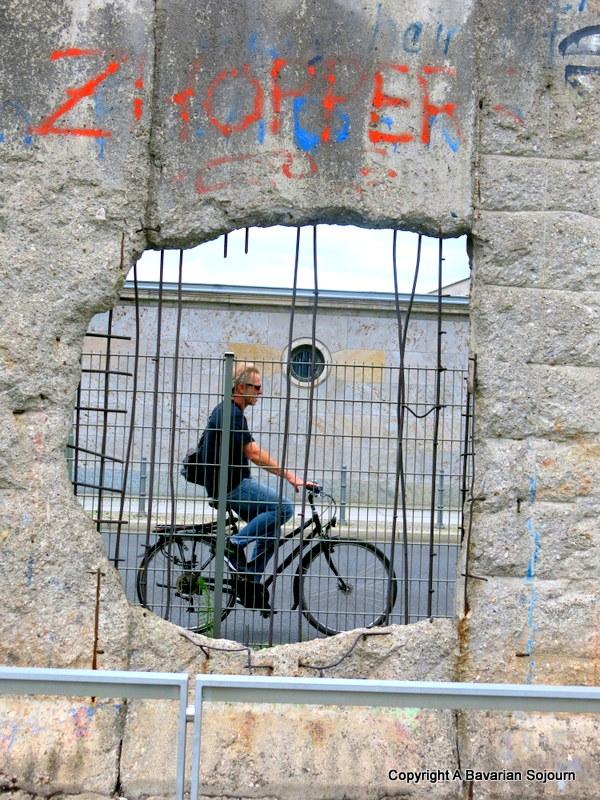 Sunday Photo – Bike in the Wall…