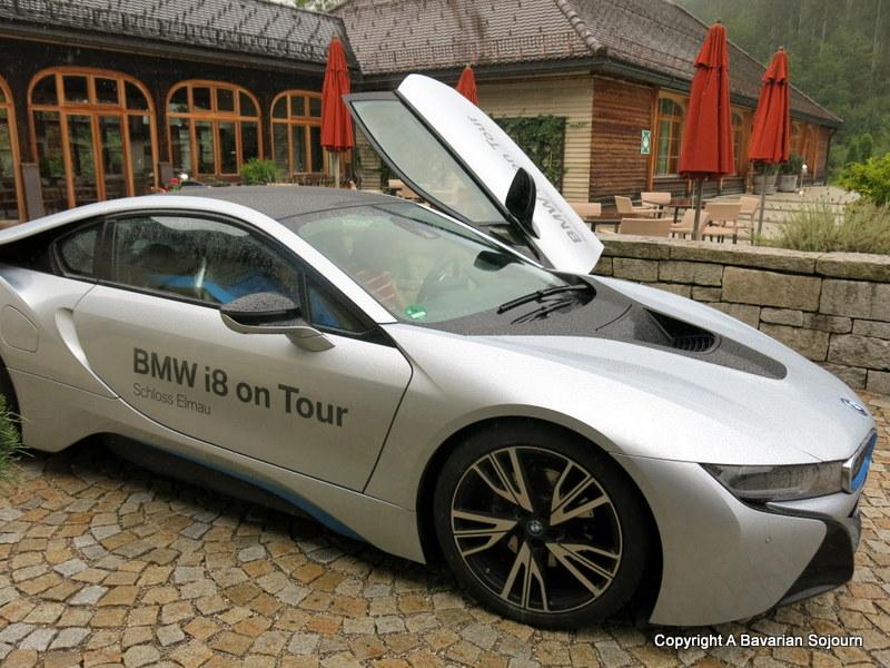 BMW i8 schloss elmau