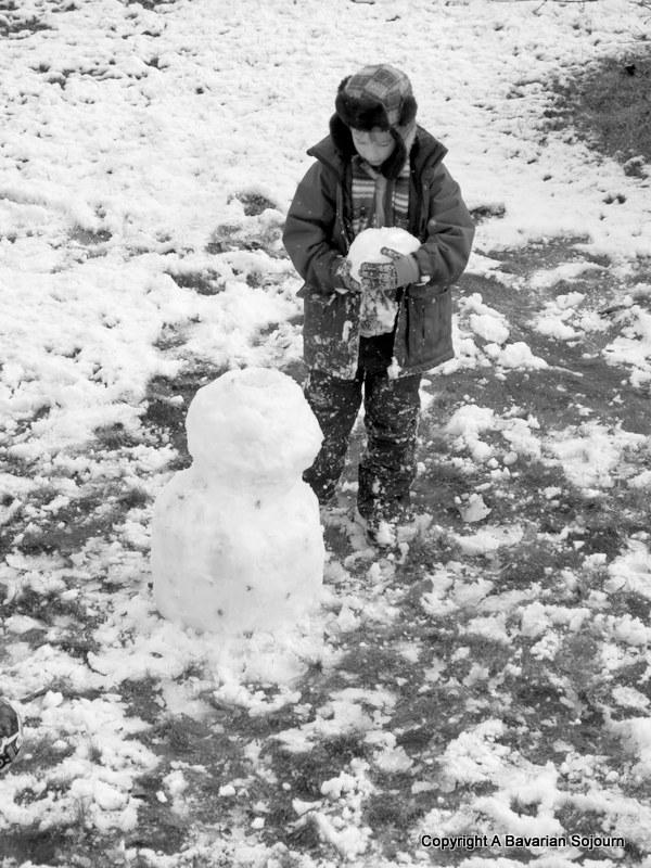 First Snow – Sunday Photo