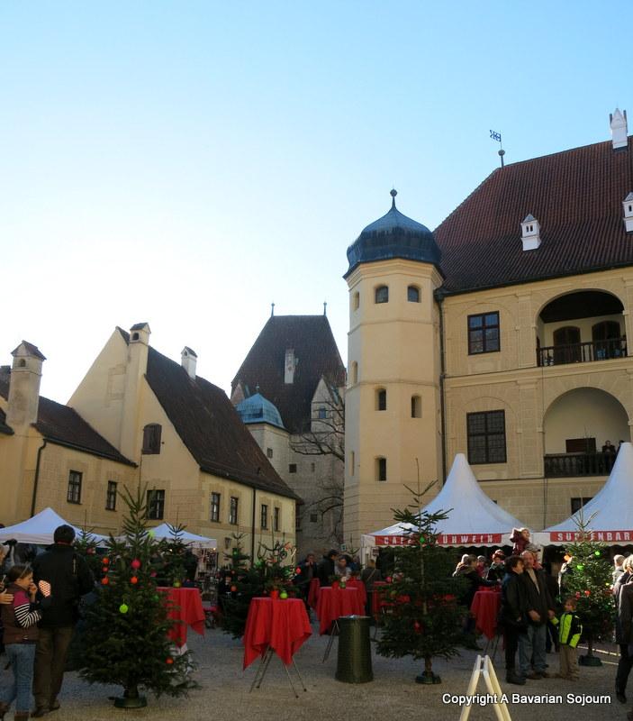 burg trausnitz christmas market