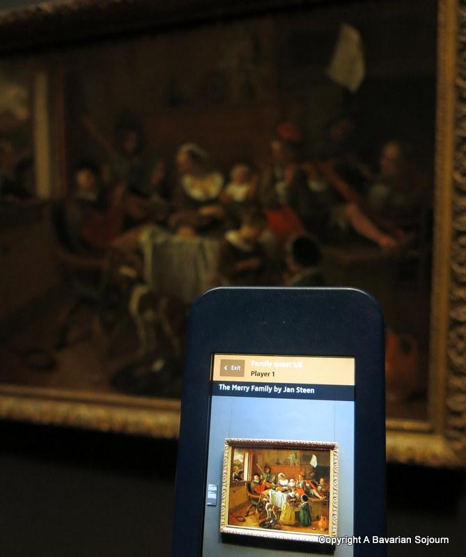 family quiz rijksmuseum
