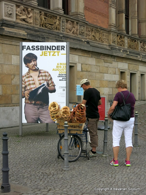 pretzel seller berlin