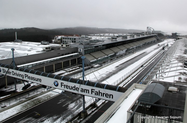 nurburgring in winter