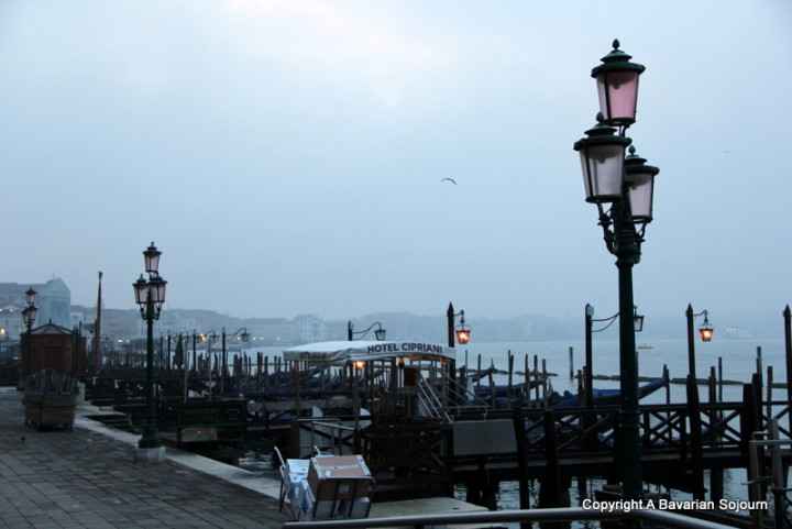venice at first light