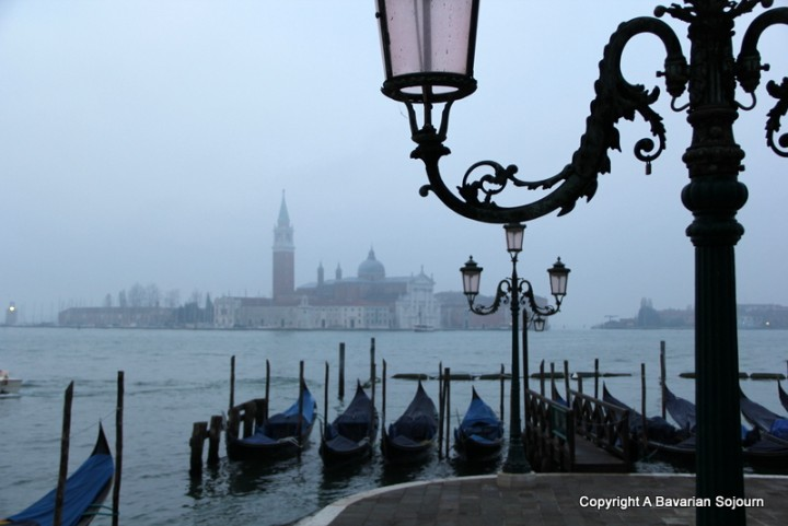 misty morning venice