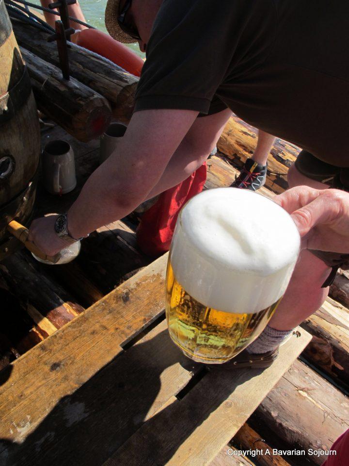 flossfahrt bier