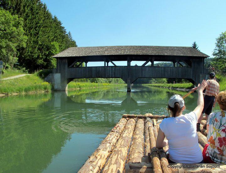 flossfahrt bridge isar