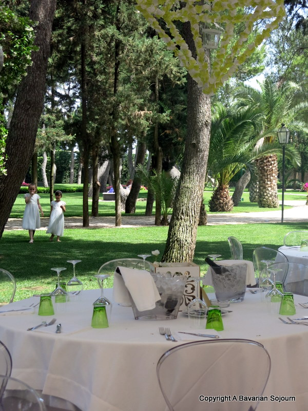 wedding at Castello Monaci