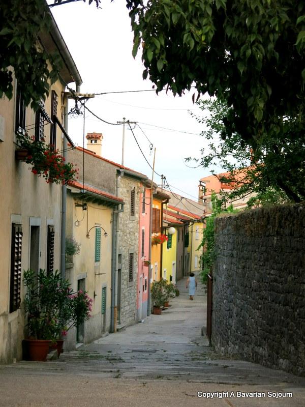 Labin streets