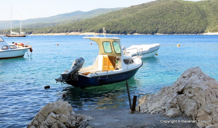 Boat Rabac