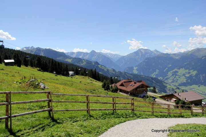 mountain views zillertal