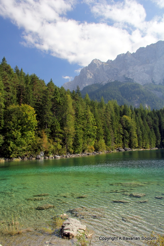 Autumn in Eibsee – Bavaria