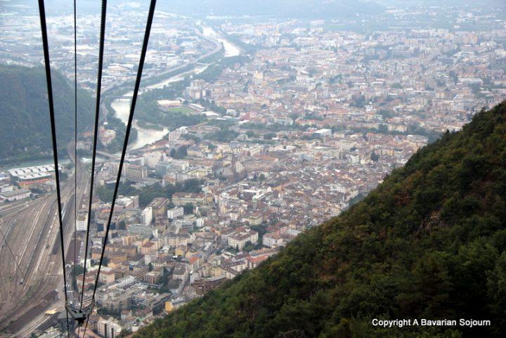 above Bolzano