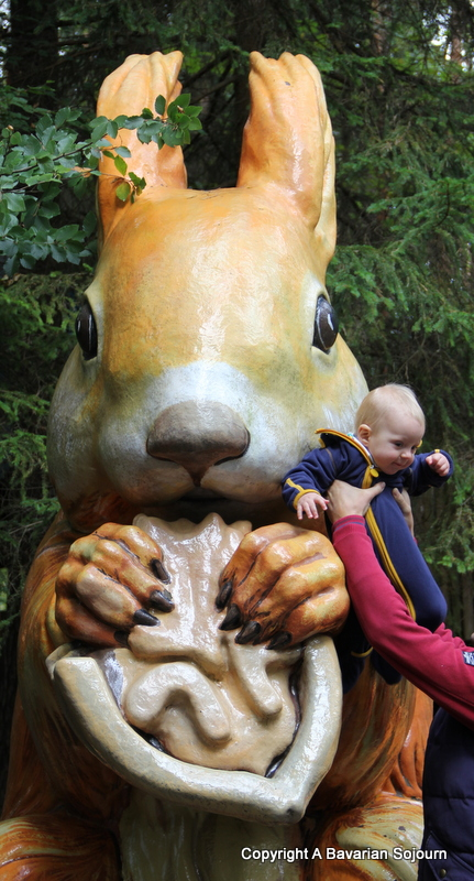 giant squirrel Märchenwald