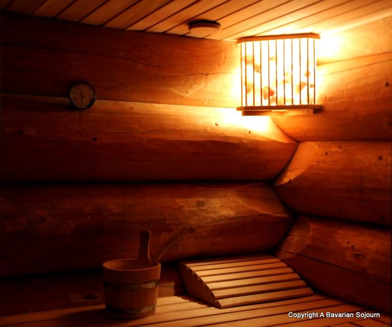 sauna alpin hutten