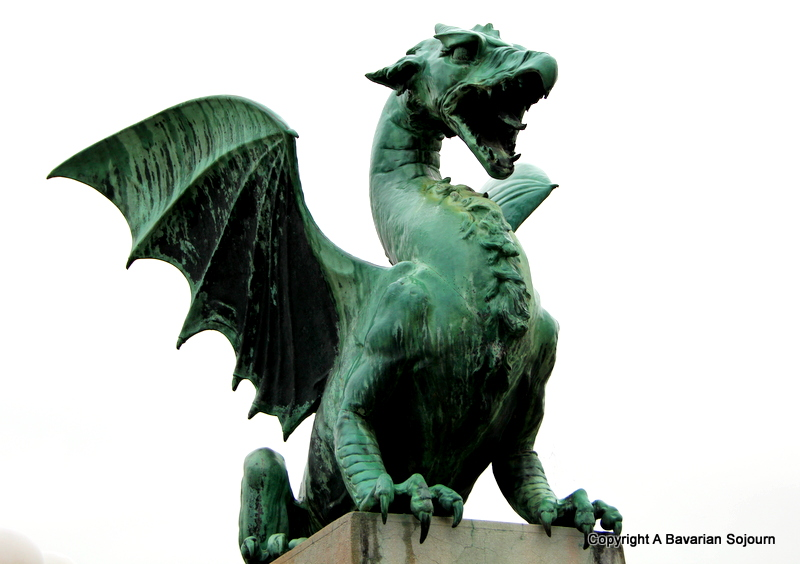 Jason's dragon - Ljubljana